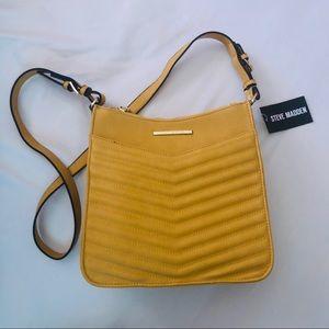 STEVE MADDEN Mustard Crossbody Bag